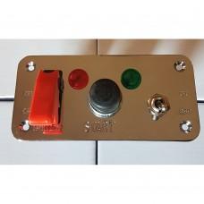 Corta-corriente con doble switch